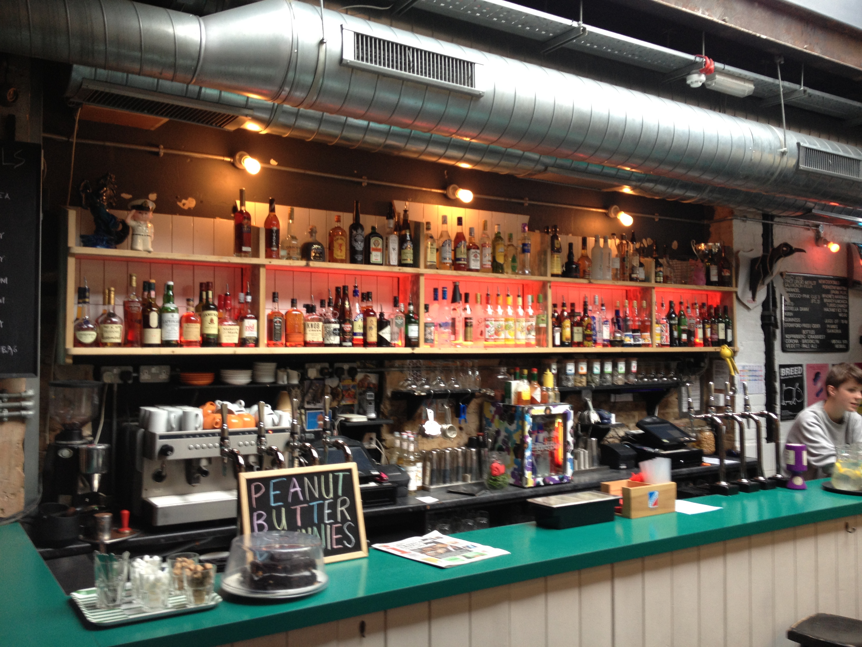 Dalston Superstore Back Bar Re Fuze